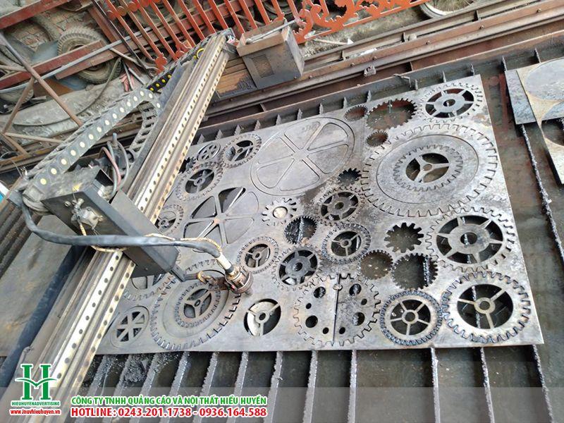 cắt CNC trên sắt giá rẻ tại hà nội