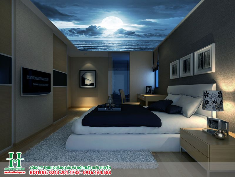 Mẫu trần xuyên sáng phòng ngủ đẹp nhất