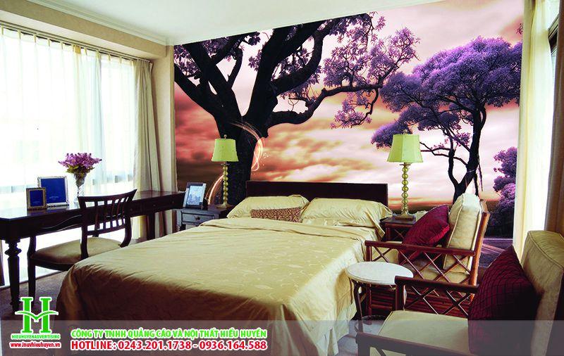 vách xuyên sáng dành cho phòng ngủ