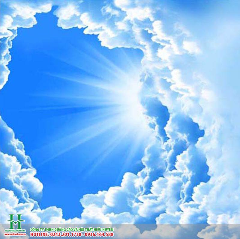 trần xuyên sáng in bầu trời xanh tại hà Nội
