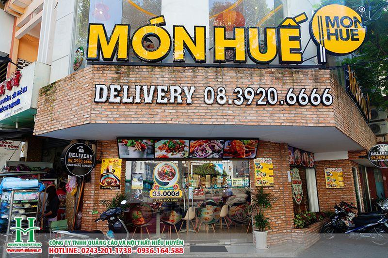 Biển quảng cáo nhà hàng giá rẻ tại Hà Nội