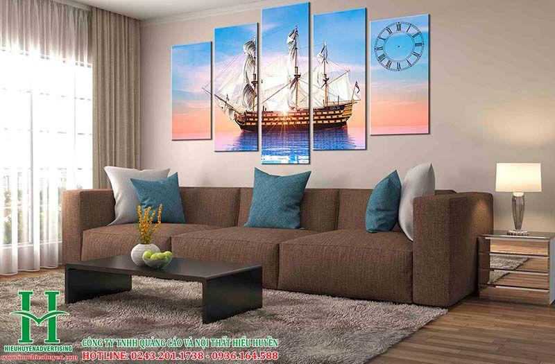 Tranh 3D thuận buồm xuôi gió đẹp nhất