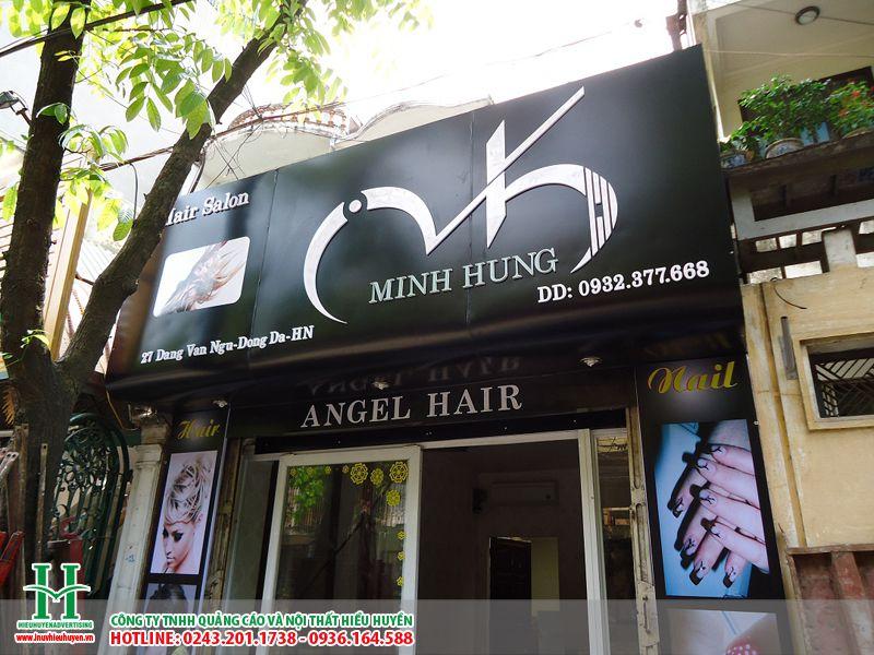 Các mẫu biển quảng cáo salon làm tóc đẹp