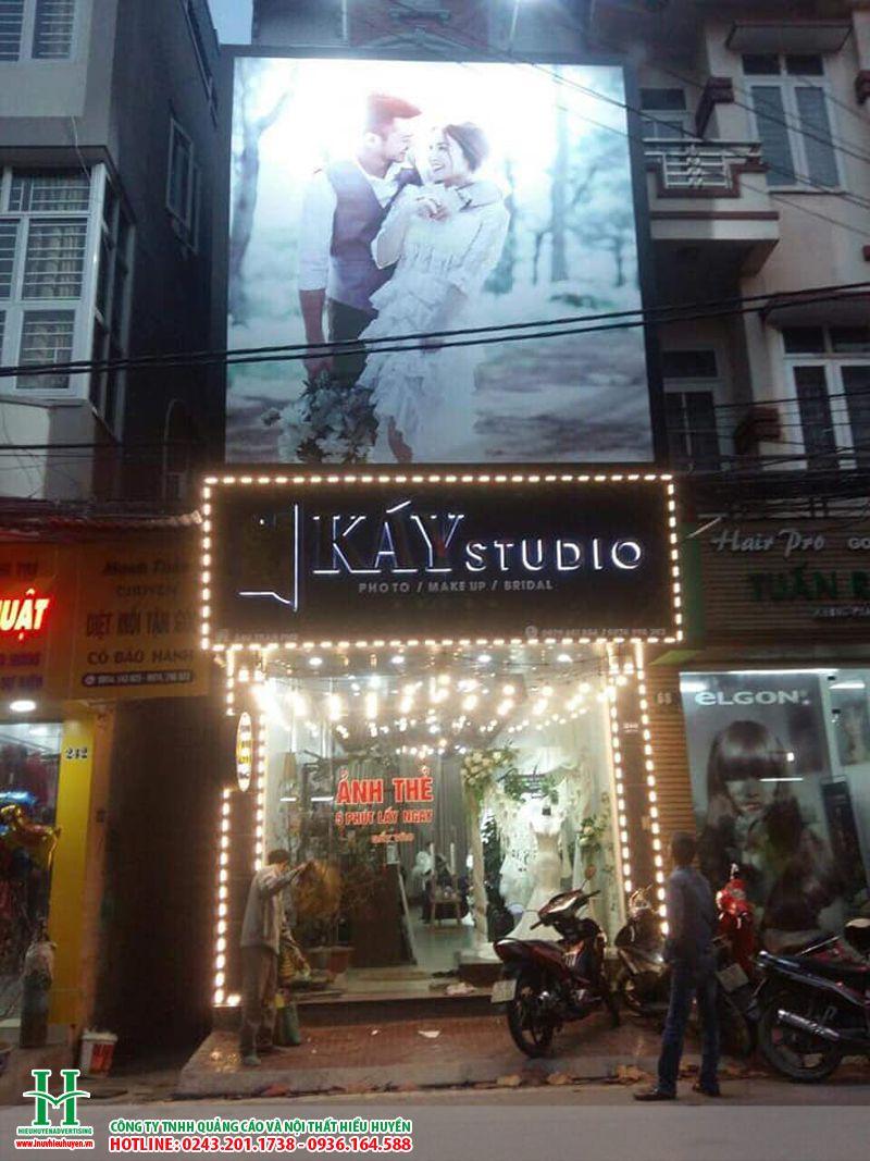 Biển quảng cáo studio, ảnh viện áo cưới đẹp nhất