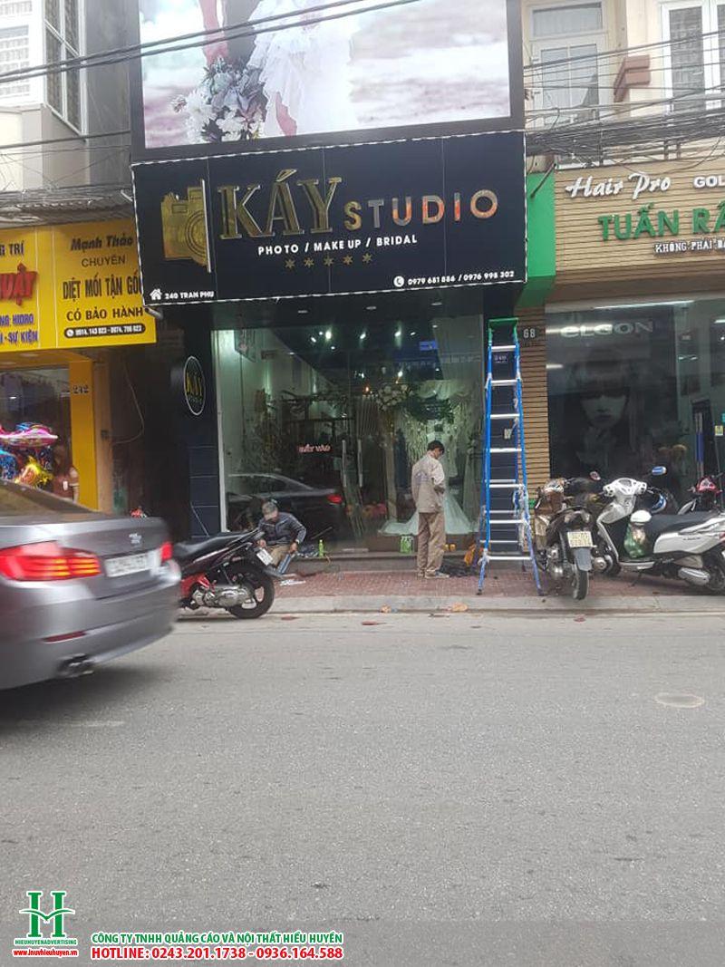 Biển quảng cáo studio, ảnh viện áo cưới tại Hà Nội