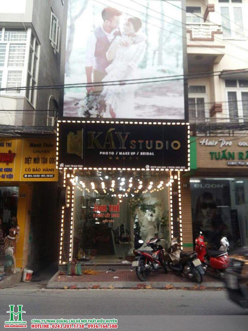 Biển quảng cáo studio đẹp nhất Hà Nội