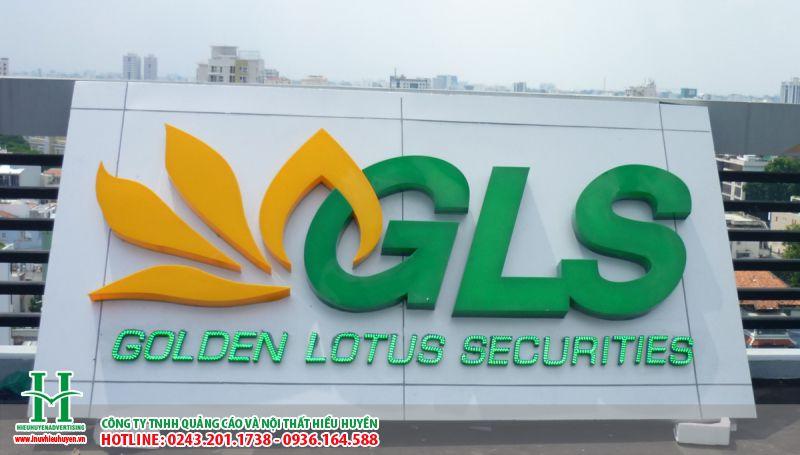 Làm biển quảng cáo chữ nổi mica tại Hà Nội